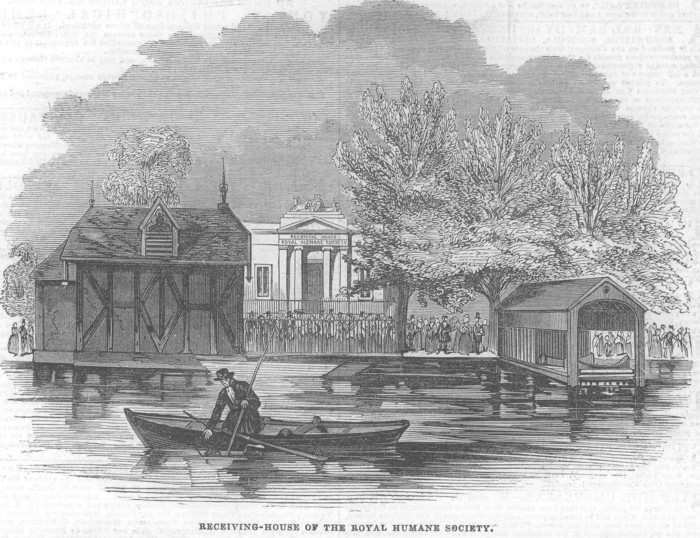 View of the Receiving House, Hyde Park