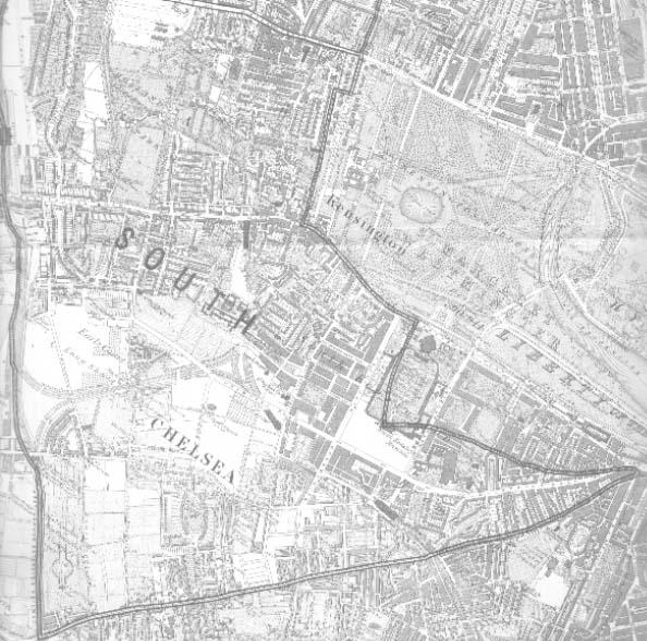 South Kensington London Map.South Kensington Map London
