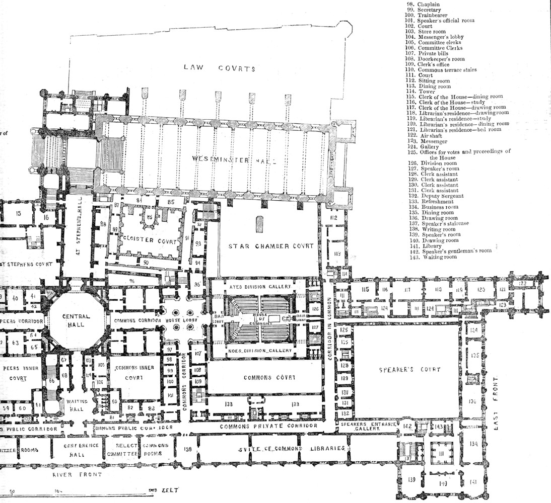 House of mons Floor Plan 1843