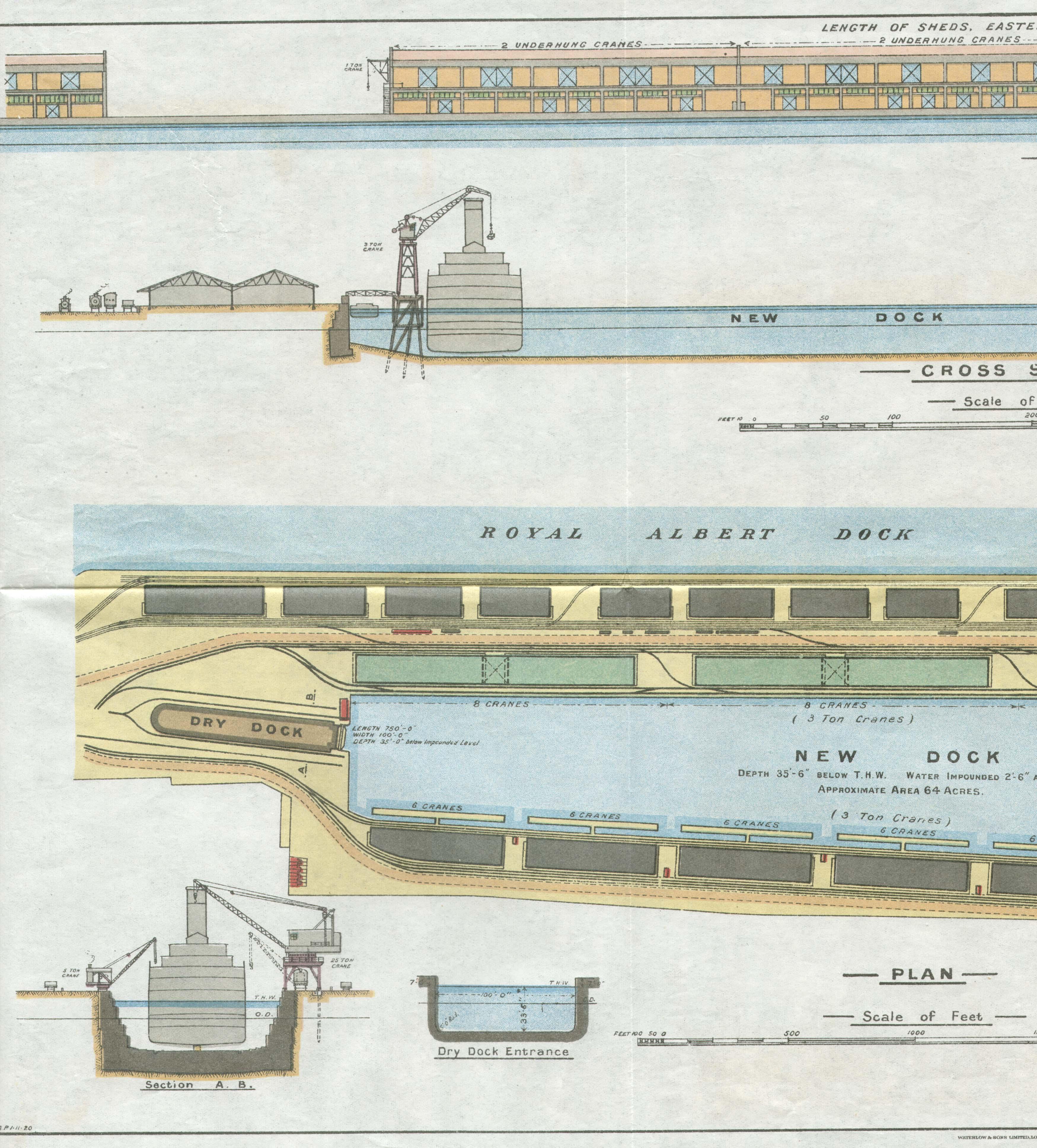 Map of Royal Albert Dock