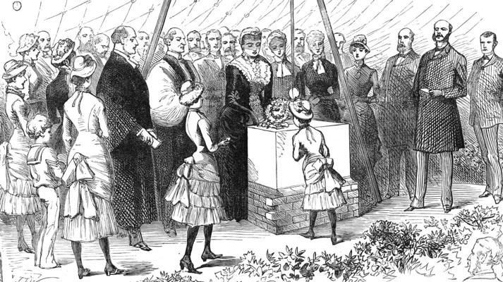 Presentation of Purses to Princess Helena