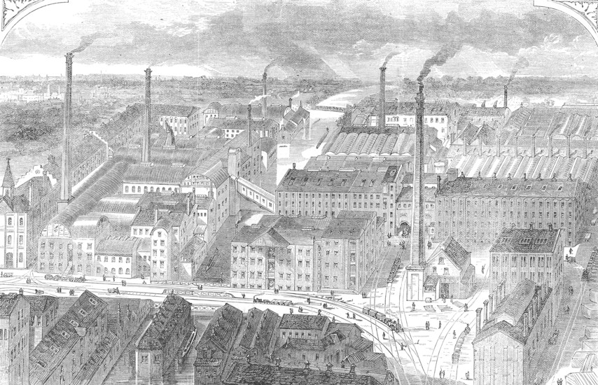 Huntley and Palmer biscuit factory