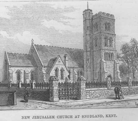 Picture of New Jerusalem Church at Snodland, Kent