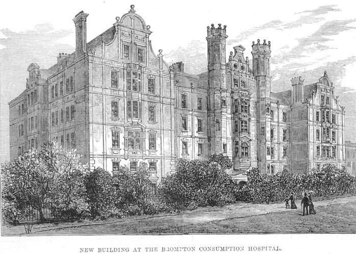 Exterior of Brompton Consumption Hospital