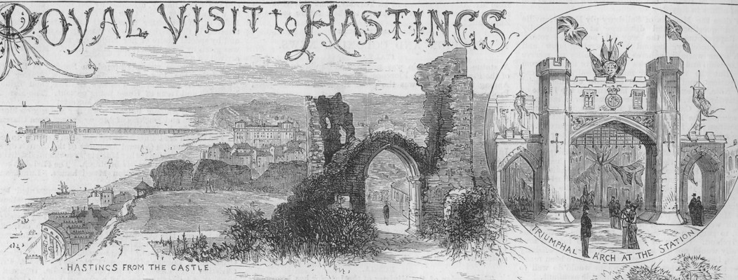 Royal entrance to Hastings