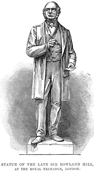 Statue of Rowland Hill